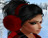 H. Ear Muffs Red Fur