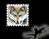 N- Wolf Stamp