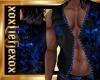 [L] Skull Blue Vest M