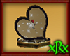 Rose Heart Display Red R
