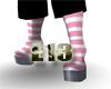 [E13]Pink sock highs