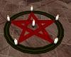 Red Black Pentagram