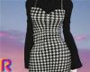 BK/WH Check Dress