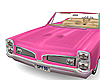 🍜 pink car