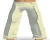 Cream Silk Pants