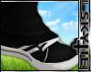 Sneaker + Socks Black
