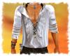 ! Pirate shirt ruffled W