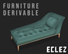Chaise Lounge Green