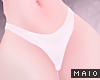 🅜 COW: white panties