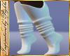 I~White Knit Boot Socks