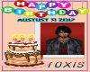 roxis birthday sign