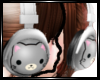 ~<3 Kitty headphones ~<3