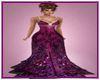 Dark Rose Gown
