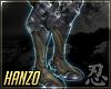 忍 Hanzo Armor Boots
