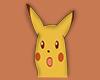 M pikachu cut out