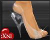 :Xni Glass Slippers