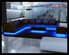 Blue Neon Glow Couch