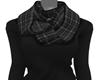 Black Sweater + Scarf