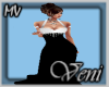 *MV* Hollywood Glam Gown