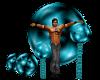 (1M) L/Blue pose Balls