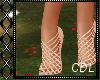 !C* Champagne Heels