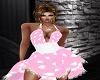 ~CBS~Pink Dot Dress