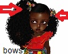 kids afrocentric 2 bows