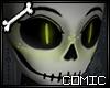 CSS| Lime Fem Skull