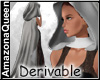Derivable Cloak Hood