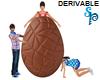 (S) Chocolate Egg