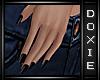 ~Vu~Black Fingernails