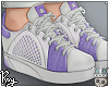 Purple Spring Shoes