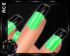 [AW]Nails: Wild Green