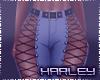 ! Belted Blue Jeans RLS