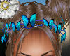 butterfly hair chain