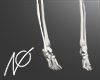NØ skeleton feet
