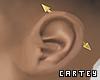 Spike Ear Gold