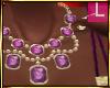 *JJ* Lavender Necklace