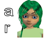 Lacey Green Black Hair