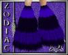Violet Monster Boots