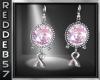 Pink Awarness Earrings