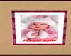 tableau bebe rose