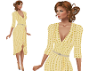 TF* Yellow Wrap Dress