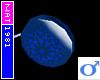 (Nat) Blue Flower YoYo