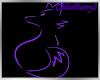 PurpFox Transparent Sign