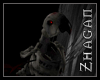 [Z] Skeleton Parrot bl/r