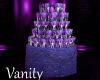 V & E Glass Wed Fountain