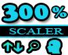 300% Scaler Head Resizer