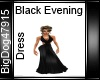 [BD] Black Evening Dress