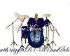 Blue Moon Drum Set